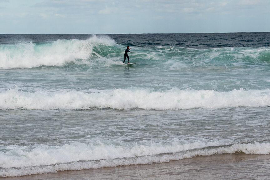 Nth Narrabeen surfer