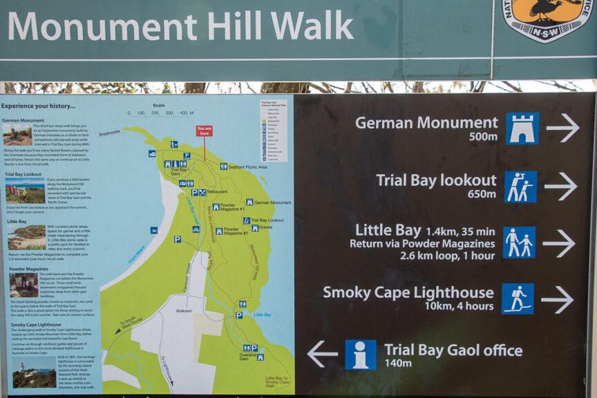 Trial Bay walk