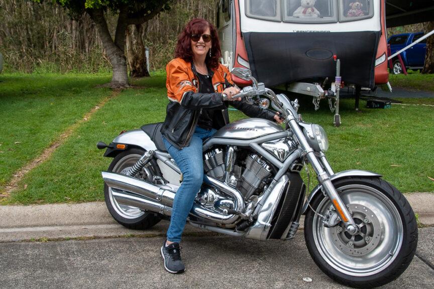 Merrisa likes the Harley