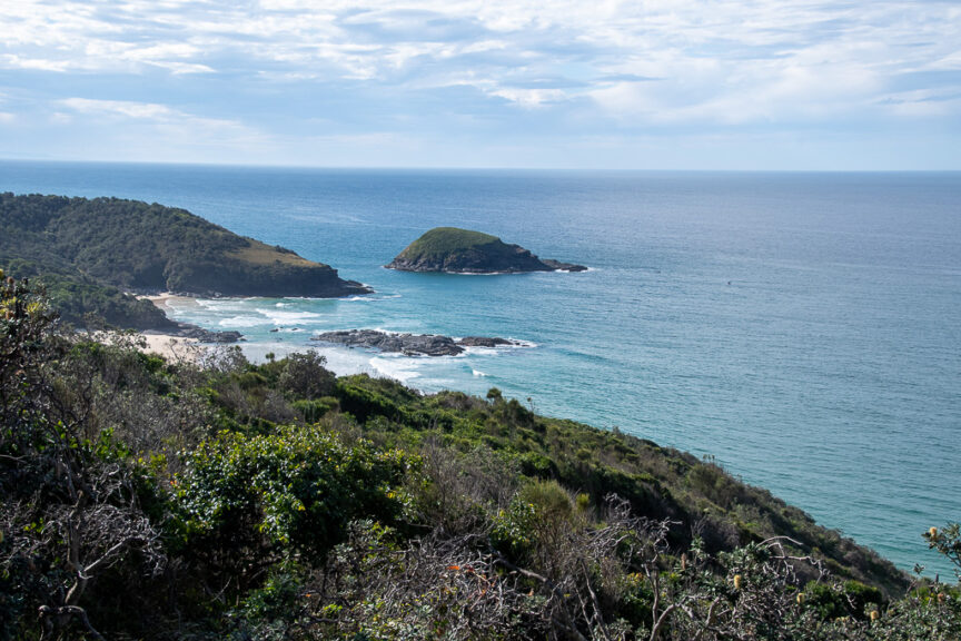 View from Smoky Cape Lighthouse