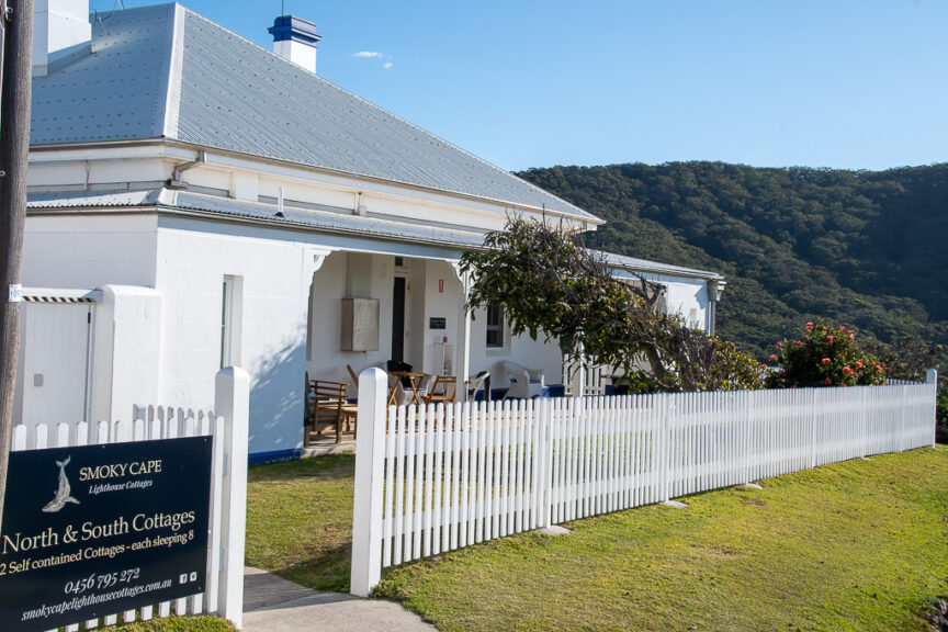 Smoky Cape Lighthouse cottages