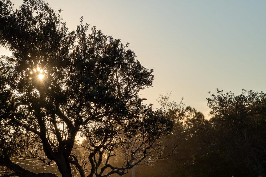 Sunset at Woopie