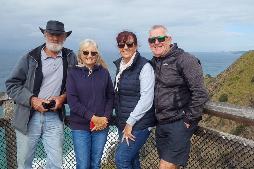 Tim, Anne, Merrisa & Neil