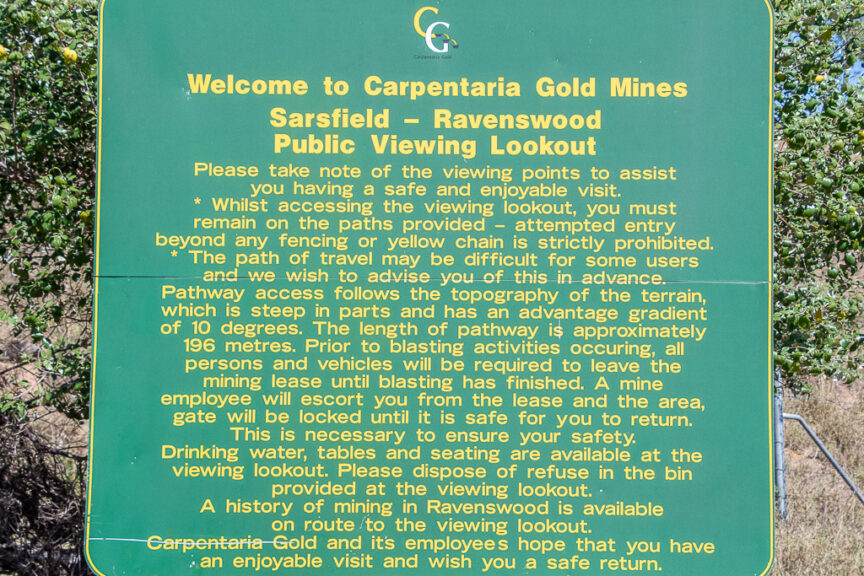 Sarsfield Gold Mine