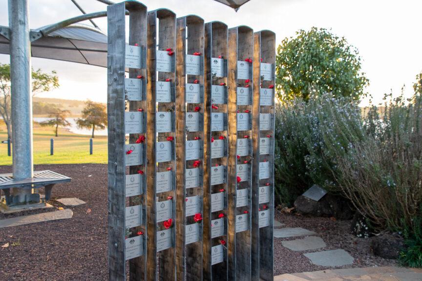 Memorial of the fallen